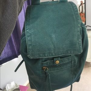 Accessories - Soft teal pleather mini backpack